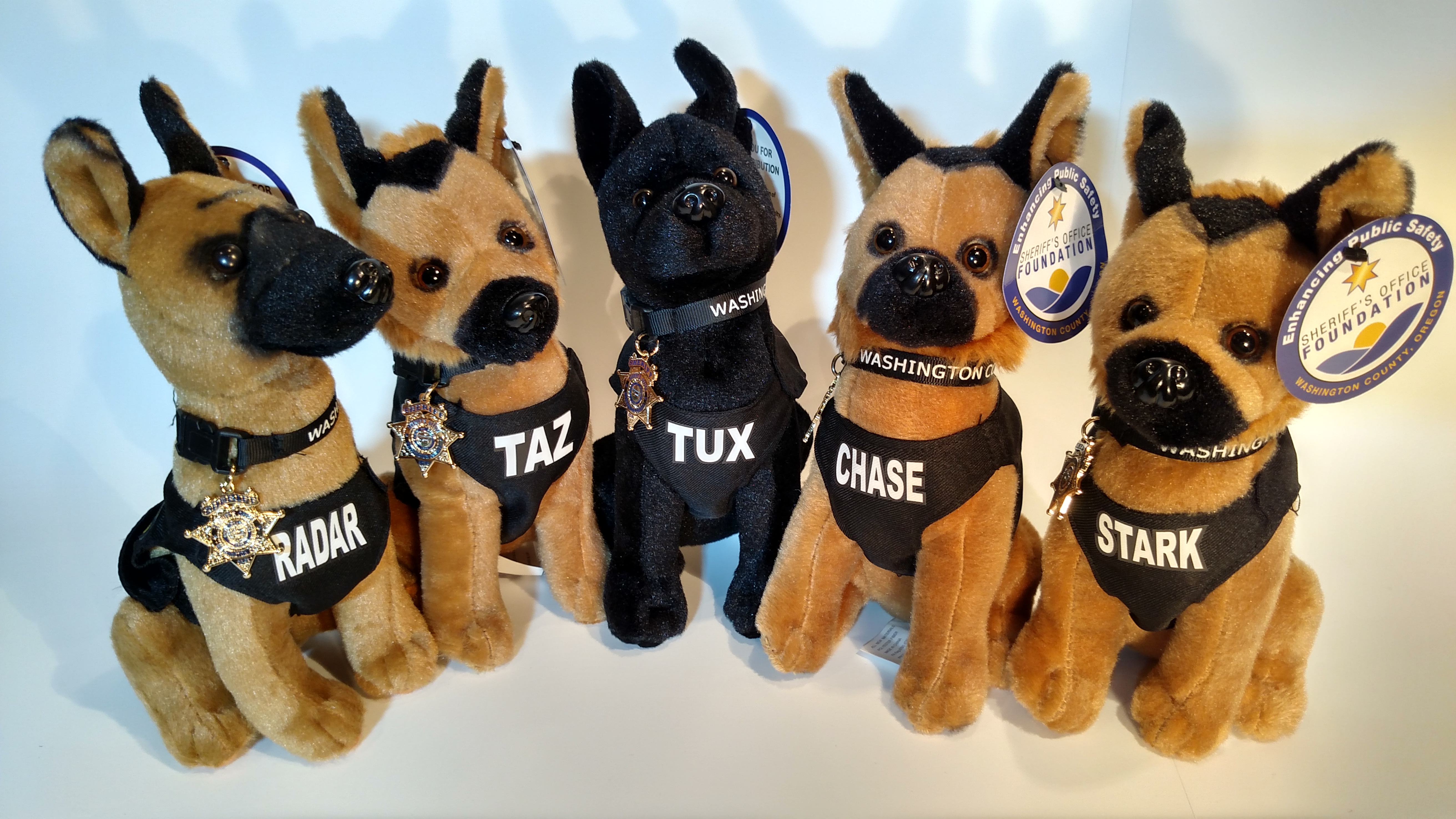 K9 Stuff Animals